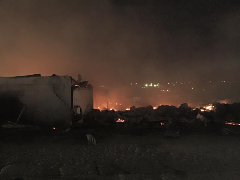 Investigators Bluegrass Stockyard Fire Accidental City