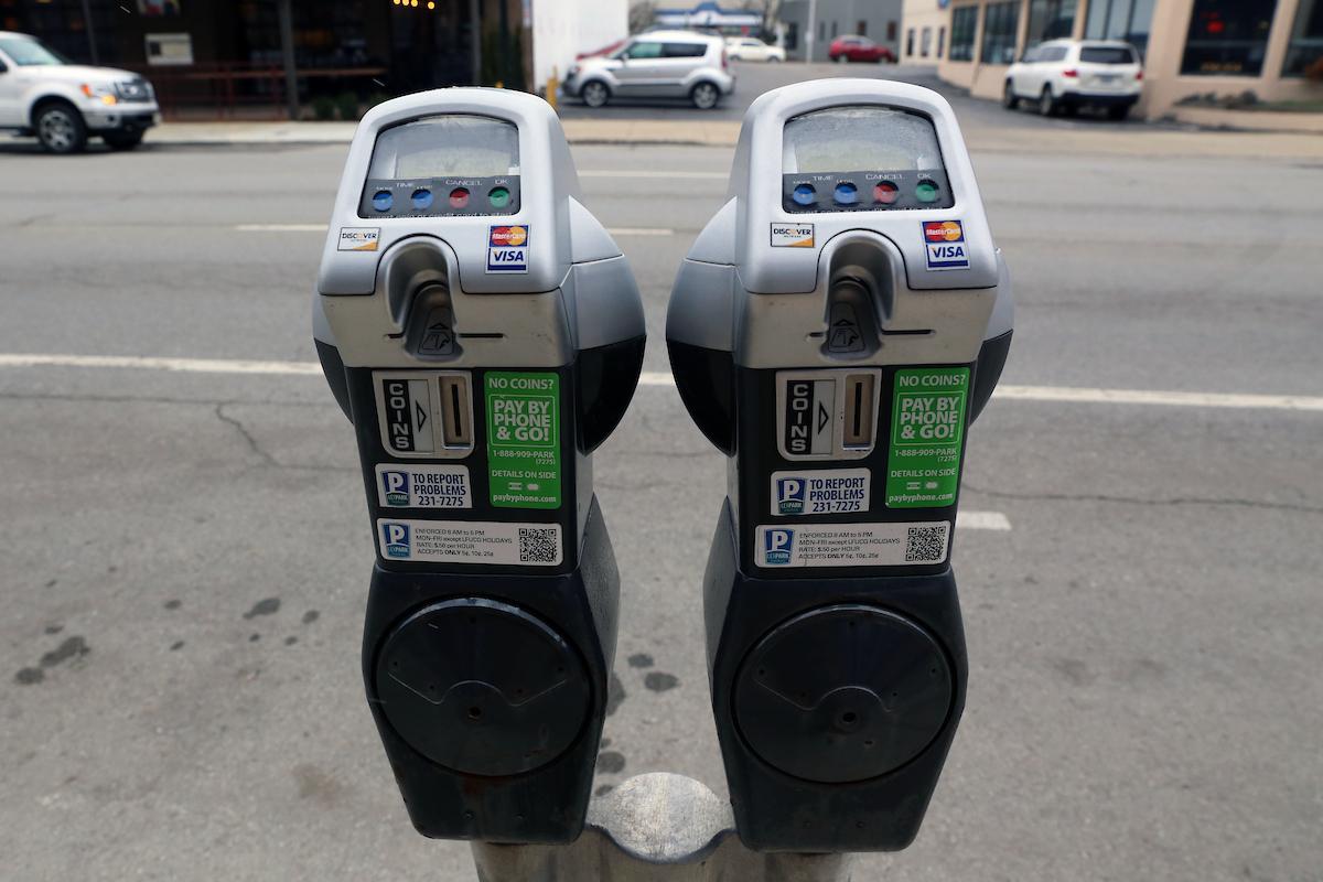 no meter parking