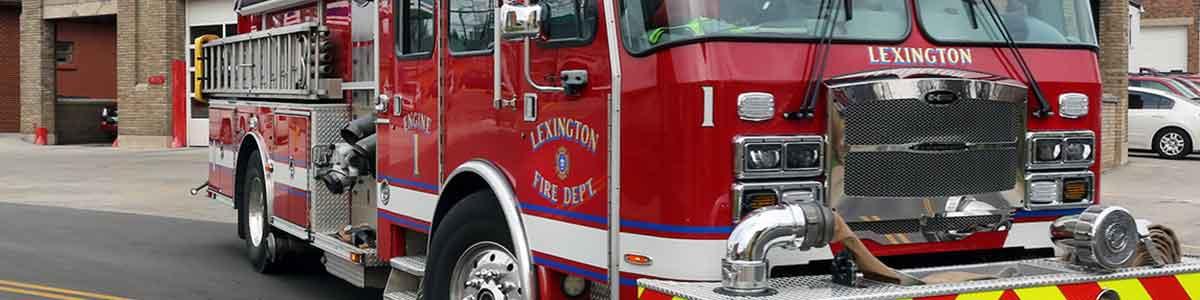 Fire Emergency Services City Of Lexington