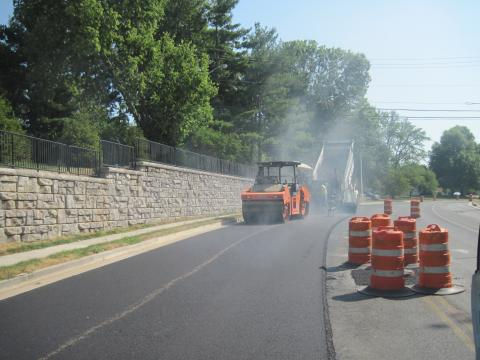 Image of Clays Mill Road construction
