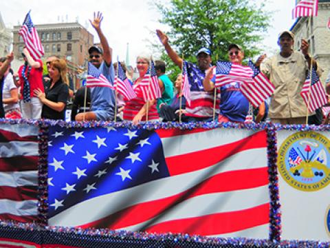 Image of Lexington's Fourth of July parade