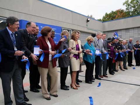 Image of PSOC ribbon cutting