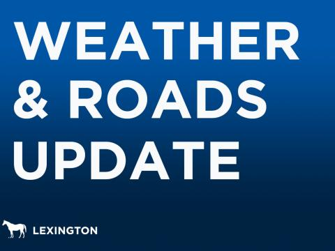 Weather & Roads Update graphic