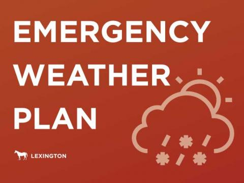 Emergency Weather Plan