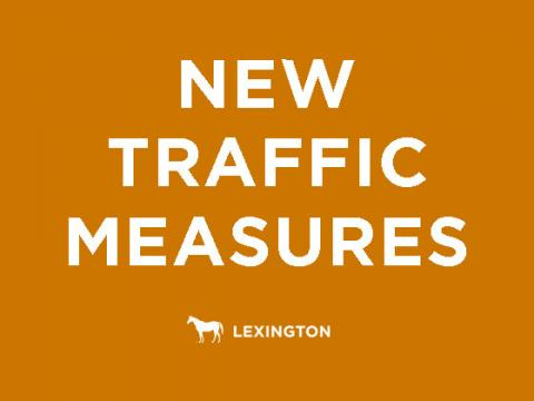 New traffic measures text graphic