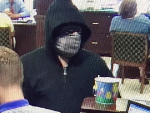 Central Bank robbery suspect