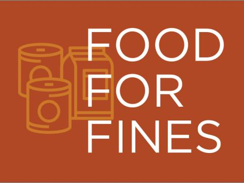 Food for Fines text graphic