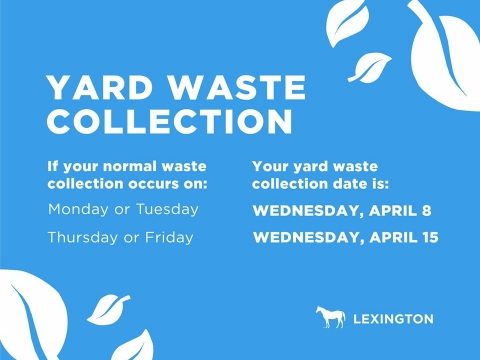yard waste collection times featured in story