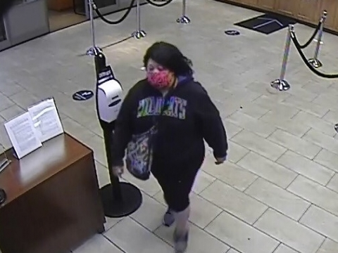 Chase Bank suspect